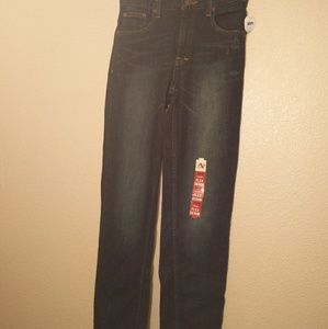 Arizona Jean Co Boy's Straight Slim Jeans NWT - 16